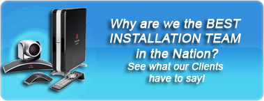 Why are we the BEST INSTALLATION TEAM in the Nation? See what our Clients have to say!